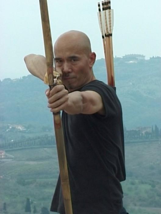 Yang Jiechang 楊詰蒼, Landscape Da Vinci, 2009,   video, 21 secs, loop (image courtesy the artist)