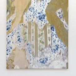Gabriel Orozco 'Fleurs Fantômes 138' 2015 Peinture jet d'huile sur toile / Oil jet painting on canvas 183 x 153 cm / 72 x 60 2/8 inches (Courtesy of teh artist and Galerie Chantal Crousel, Paris Photo : Florian Kleinefenn)