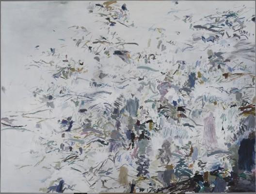 Huang Yuanqing, Untitled 2017–10, Acrylic on Canvas, 120 x 160 cm, 2017 黄渊青,《无题 2017–10》,布面丙烯,120 x 160 cm,2017