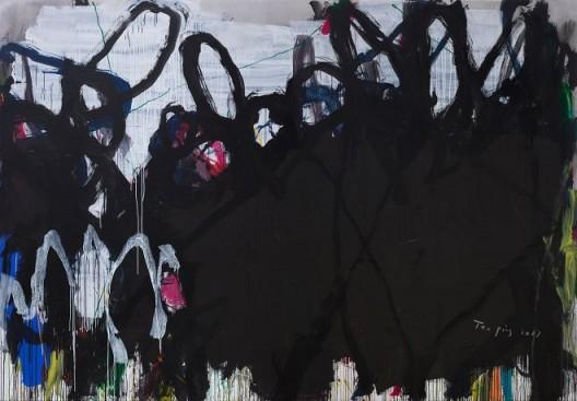 Tan Ping, Untitled, Acrylic on Canvas, 300 x 400 cm, 2017 谭平,《无题》,布面丙烯,300 x 400 cm,2017