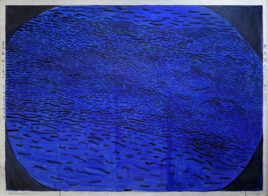 Yu Youhan, 20170605, Acrylic on Canvas, 162 x 206 cm, 2017 余有涵,《20170605》,布面丙烯,162 x 206 cm,2017