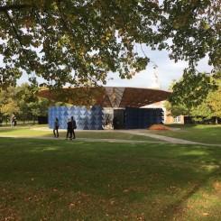 2017 Serpentine pavillion designed by Francis Kéré