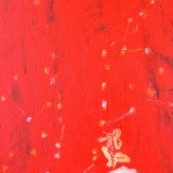 "Gao Xian, ""The Dreams - The Cowherd Star"", 2016, acrylic on canvas, 120 x 60 cm (image courtesy the artist and Katrine Levin Galleries)"