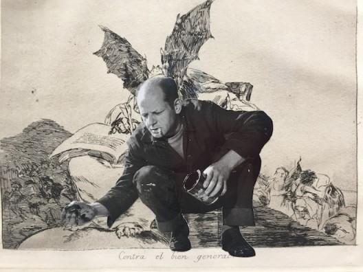 Jackson Pollock demon