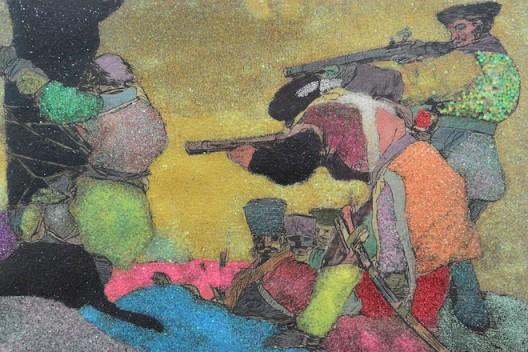 Colourful Goya slaughter
