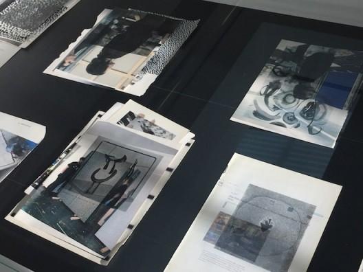 Wade Guyton at Serpentine Galleries – studies in vitrines