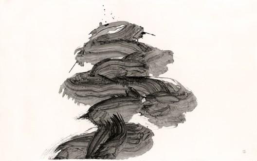 Inoue Yuichi, Yume (Dream), 1966 井上有一,《梦》,一九六六年作 Sold for成交价 HK$1,500,000 / US$192,000 Auction record for the artist艺术家拍卖纪录