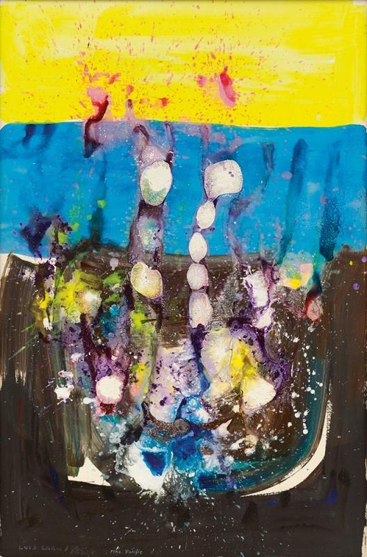 Luis Chan, The Pacific, 1984 陈福善,《太平洋》,一九八四年作 Sold for成交价 HK$ 275,000 / US$35,200
