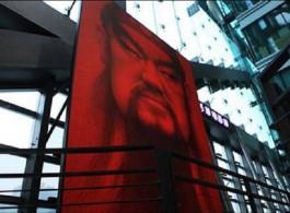 韩国艺术家姜亨久的关公形象