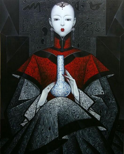 """""""Sentiment 140630"""" by Qiu Shengxian, Amanda Wei Gallery, Hong Kong, Room 4326 """"情调 140630"""", 邱胜贤, Amanda Wei Gallery, 中国, 房间4326"""