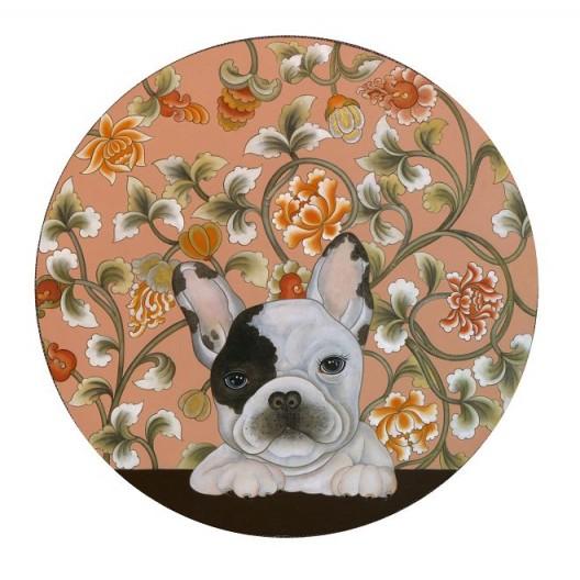"""""""Zodiac – Dog"""" by Li Xiang, Yuan Gallery, Hong Kong, Room 4020 """"Zodiac – Dog"""", 李想, 渊艺廊, 香港, 房间4020"""