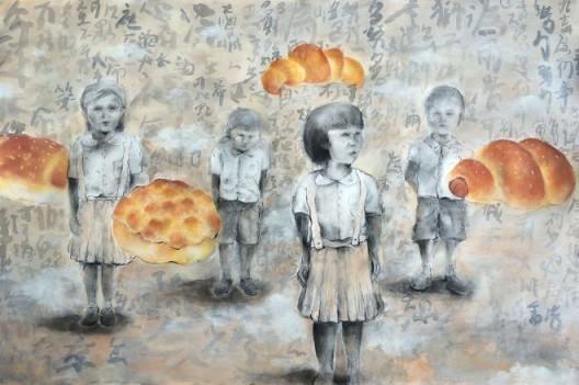 """Do We Have a Choice"" by Zoe Liu, BLINK Gallery, Hong Kong, Room 4220  ""Do We Have a Choice"", 李澧榆, 齐亮画廊, 香港, 房间4220"