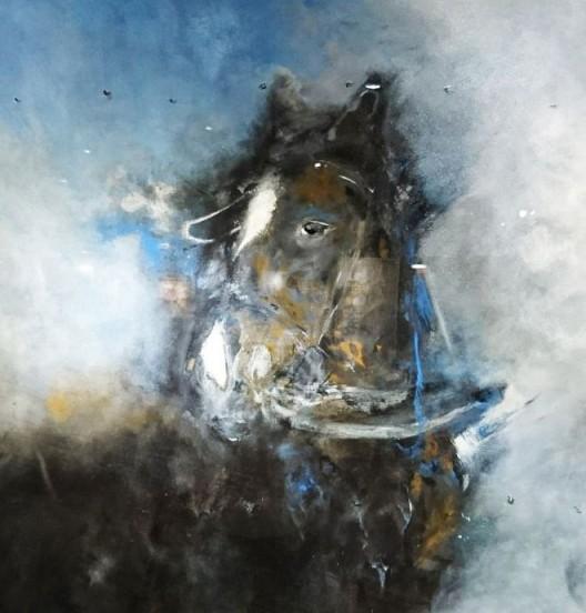 """""""Equus"""" by Allan Banford, Macey & Sons, Hong Kong, Room 4026 """"Equus"""", Allan Banford, Macey & Sons, 香港, 房间 4026"""