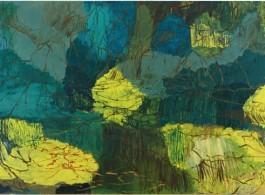 Per Kirkeby, Untitled, 1999, Oil on canvas, 300 x 500 cm, 1181/8x 1967/8inches / Courtesy of the Artist and Almine Rech Gallery佩尔·柯克比,《无题》,1999,布面油画,300 x 500 cm,图片由艺术家和Almine Rech画廊