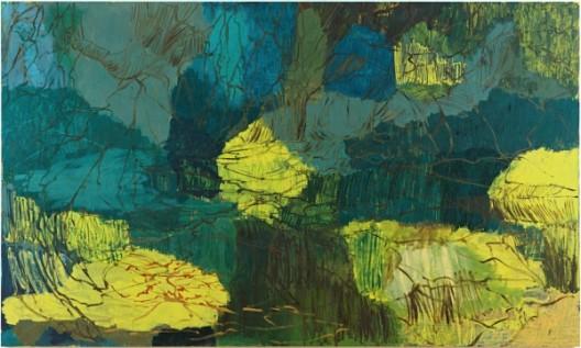 Per Kirkeby, Untitled, 1999, Oil on canvas, 300 x 500 cm, 118 1/8 x 196 7/8 inches / Courtesy of the Artist and Almine Rech Gallery佩尔·柯克比,《无题》,1999,布面油画,300 x 500 cm,图片由艺术家和Almine Rech画廊