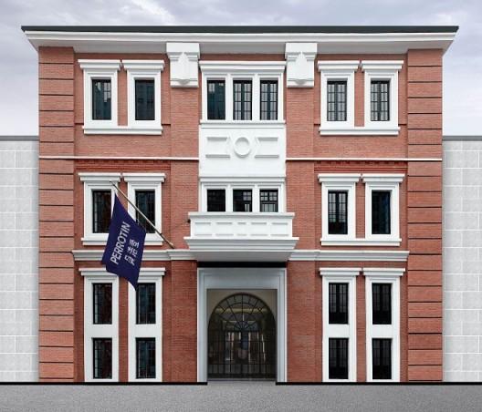 Facade of 27 Huqiu Road, Shanghai (rendering) 上海虎丘路27号建筑外观(筹备中)| 图片提供:贝浩登