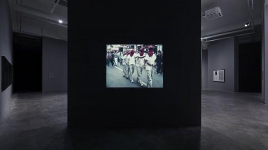 《机能丧失第三号》,行为艺术,超8mm转DVD.彩色.无声.约8分钟.单频道录像.循环放映,1983(图文资料由长征空间提供,拍摄:陈又维)