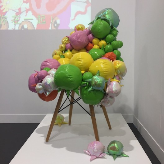 Lu Yang, C-chair (installation) at Rén Space, Art Central Hong Kong, 2018