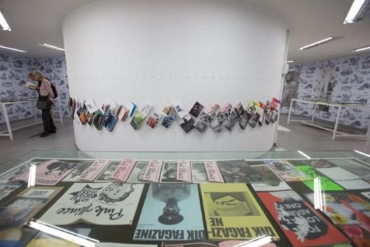 2014, Queer Zines Installation, Gwangju Biennale 8