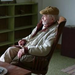Robert Indiana in Vinalhaven, 2011. Photo: Paul Kasmin.
