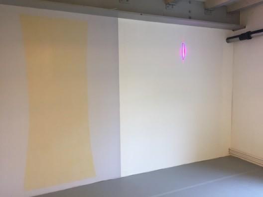 Elena Naibutaitè solo show at LISTE (image courtesy the artist and Galleria PM8, Vigo, Spain, photo Chris Moore)