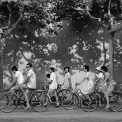 Title: Bicycles Location: Suzhou Shot: 1988