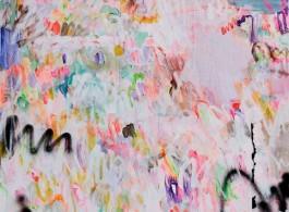 Yang Shu, WT 2018 No.5, Acrylic on Canvas, 200 x 150 cm, 2018 楊述,《WT 2018 No.5》, 布面丙烯,200 x 150 cm,2018 年