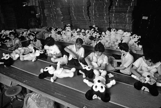 Disney Factory Minniemouse Line Taiwan 1993(?)
