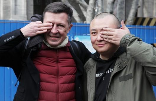 Ju Anqi and Thomas Eller雎安奇与艾墨思