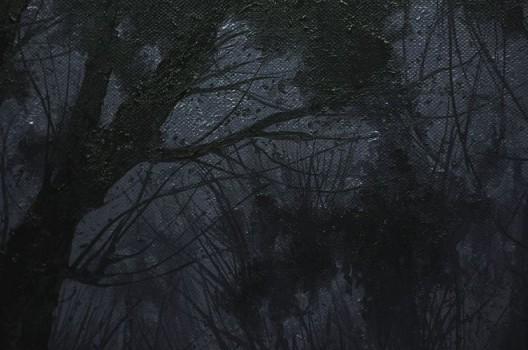 潘剑,《天空2015-1》,布面油画,225x530cm(225x400+225x130),2015 Pan Jian, Sky 2015-1, oil on canvas, 225x530cm(225x400+225x130), 2015
