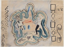 Francis Picabia, Colloque,1926-1928. Courtesy Galerie 1900-2000 and David Zwirner.