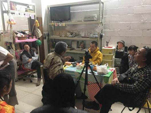 广州上阳台徐坦工作坊对谈现场,2018