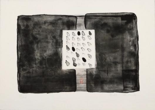 Untitled No.2, Lithograph, 50.5 x 66 cm (20 1/2 x 26 in), 1993 《无题之二》, 石版画, 50.5 x 66 cm, 8/26版