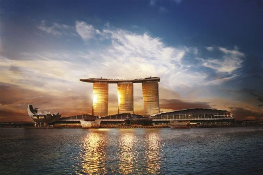 Marina Bay Sands will be the venue for the inaugural ART SG. Credit: Marina Bay Sands