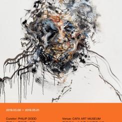 海报 Maggi Hambling_Exhibition Poster
