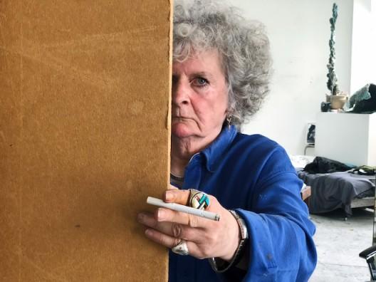 Maggi Hambling No.1, London 2018 © Juergen Teller, All Rights Reserved