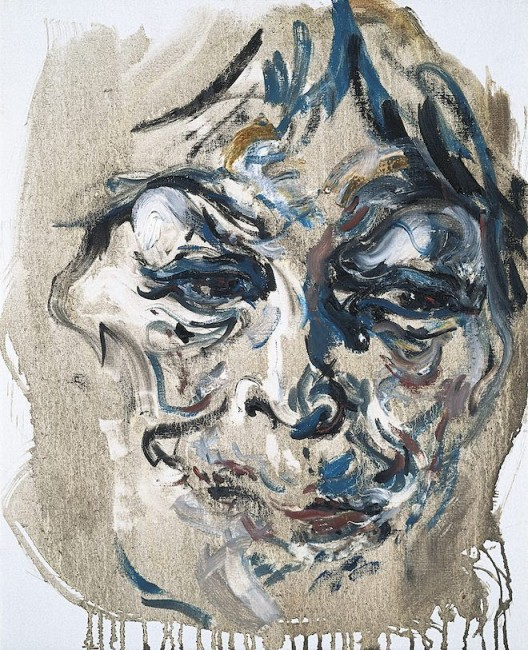 Maggi Hambling, Henrietta June, oil on canvas, 53 x 43 cm, 1998 亨丽埃塔,1998 年 6 月,1998 布面油画, 53.3 x 43.2 厘米, 私人收藏 (image courtesy the artist and Marlborough Gallery)