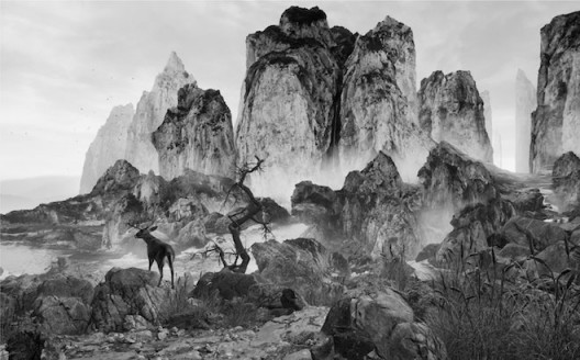 YANG Yongliang, Eternal-Landscape, virtual reality, Duration 633, Edition of 5, 2017 (courtesy of HdM Gallery)