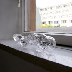 Hand blown glass Approx. size: 30 x 8 x 7,5 cm