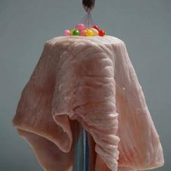 Jiang Zhi, Seize Candy From Your Flesh, Photography Archival Inkjet Print, 145x111cm, 2017 (image courtesy the artist and SGA) 蒋志, 在你的皮肉上攫取糖果, 摄影 艺术微喷, 145x111cm, 2017 (图片致谢艺术家和SGA)