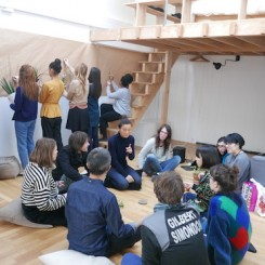 Zheng Bo, A Chinese Communist Garden in Paris, 2016-ongoing.  Workshops at Villa Vassilieff and École du Breuil, Paris. Courtesy of the artist. 郑波,《巴黎之中华共产主义花园》,2016年至今。巴黎瓦西列夫别墅的工作坊。感谢艺术家提供图片