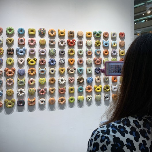 Apparently art now needs to be instagrammable. Apparently donuts are very instagrammable. Donuts are art.