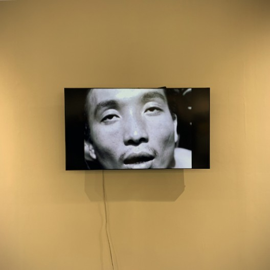 """A video in """"Art Revives Beyond Discipline: Post Martial-Law and the Development of Taiwan Contemporary Art"""" and exhibition occupying a large booth which explored the development of contemporary art in Taiwan after the end of the martial law in 1987. The show was very academic, but meaningful."""