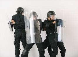 Isaac Chong Wai Police 2018, at Zilberman Gallery (Berlin, Istanbul) at Contemporary Istanbul 2019