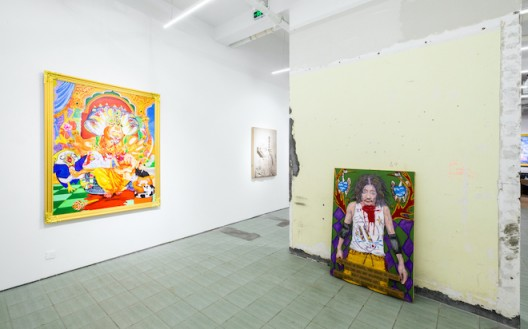 Installation view (image courtesy the artist and gallery)
