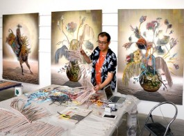 Gordon Cheung advises younger artists to ensure that they establish contracts with galleries  © the artist