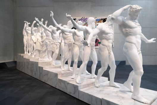 XU ZHEN®: ETERNITY VS EVOLUTION  installation view featuring European Thousand-Armed Classical Sculpture 2014 (ed. 2/3)